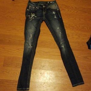 Miss Me Skinny Jeans size 23
